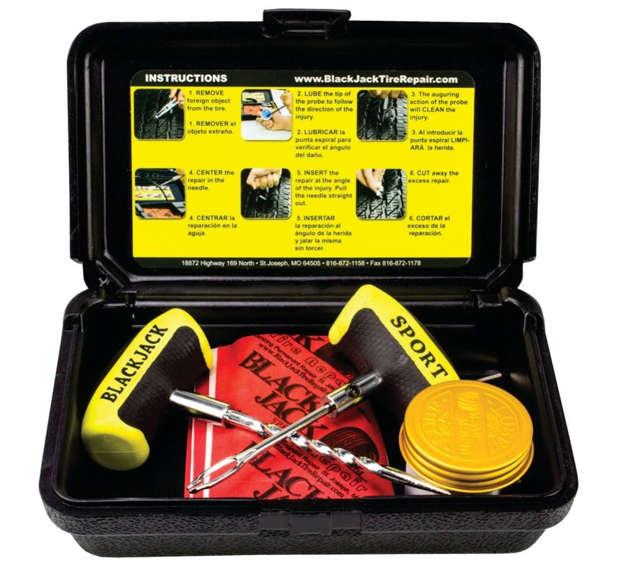 Blackjack KT-220 Tire Repair Kit