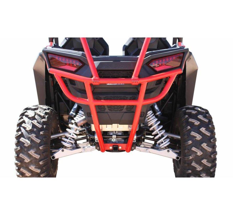 - RZR Rear Smash Bumper Red