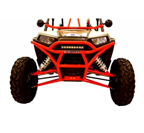 DragonFire Racing - RZR Front Bash Bumper Black