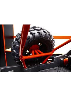 DragonFire Racing Dragonfire Racing  - Spare Tire Carrier - 2 Seat Models Black