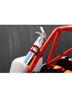 "DragonFire Racing Dragonfire Racing  - Billet Quick Release Fire Ext Mount - 1.5"" - 1.75"" Red"