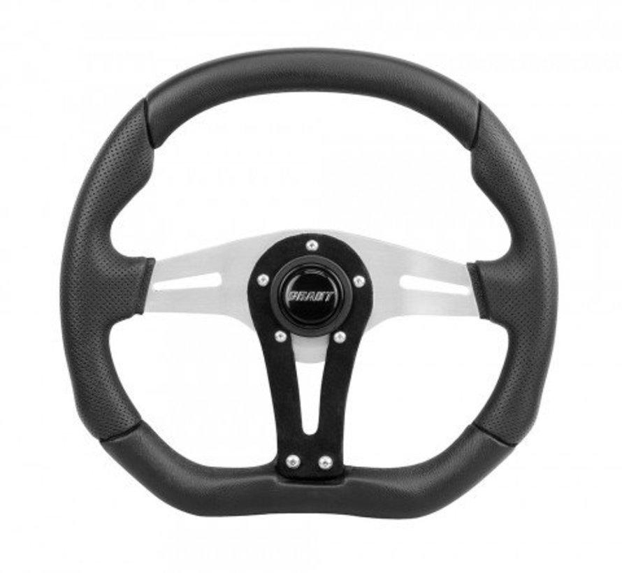- Racing Wheel - D Series Blue 13.75X11.75 Silver & Blue Black