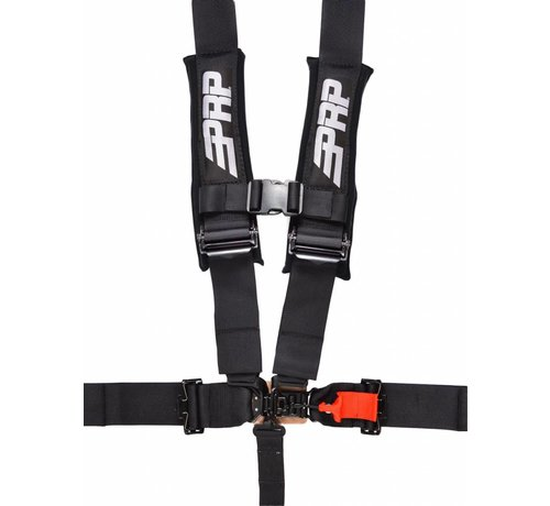 PRP Seats - 5.3 Safety Harness - Black