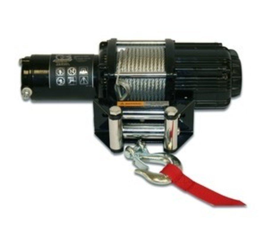 - 4000lb SxS ATV UTV Utility Winch