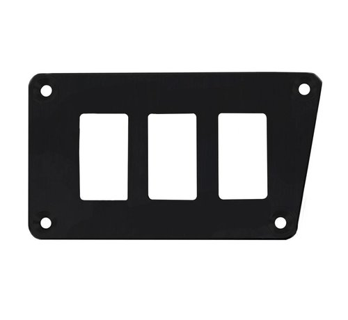 Outdoor Logic - 3 Switch Panel - RZR Low Left - Black