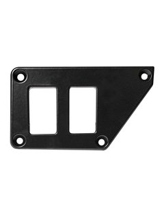 Outdoor Logic Outdoor Logic - 2 Switch Panel - RZR UP Left - Black
