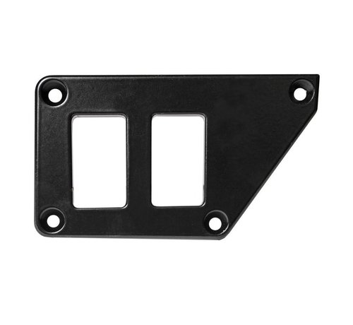 Outdoor Logic - 2 Switch Panel - RZR UP Left - Black