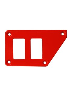 Outdoor Logic Outdoor Logic - 2 Switch Panel - RZR UP Left - Red