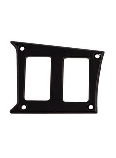 Outdoor Logic Outdoor Logic- 2 Switch Panel - RZR Left Center - Black