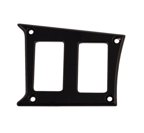 Outdoor Logic - 2 Switch Panel - RZR Left Center - Black