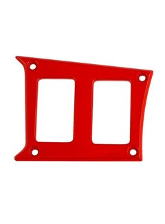 Outdoor Logic Outdoor Logic - 2 Switch Panel - RZR Left Center - Red