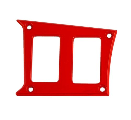 Outdoor Logic  - 2 Switch Panel - RZR Left Center - Red