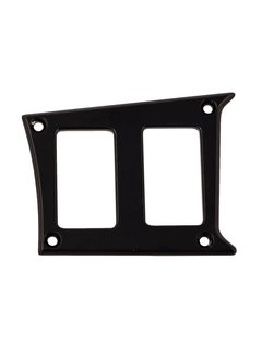 Outdoor Logic Outdoor Logic - 2 Switch Panel - RZR Right Center - Black