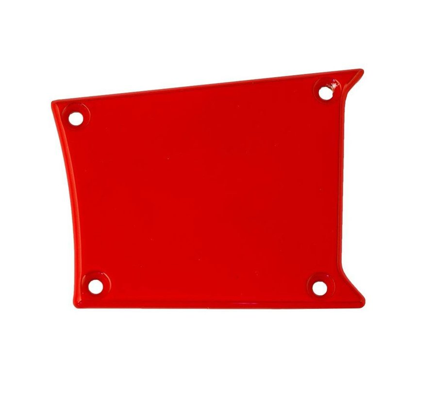 - Solid Panel - RZR Right Center - Red