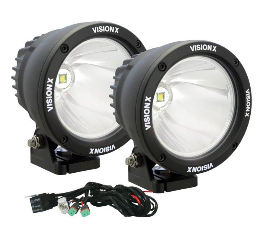 - 4.5″ Light Cannon LED Kit