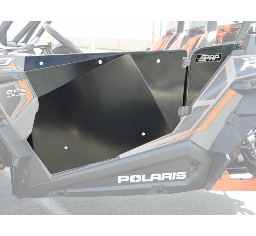 PPR - Polaris RZR 2 Door Set - Black