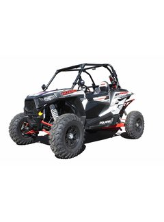 DragonFire Racing Dragonfire Racing - RZR 2 Seat Door Panel & Slammer Kit Black