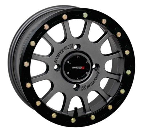 System 3 Off-Road System 3 Off-Road SB-5 Beadlock Wheels  15X7 4/156 5+2 SBL GRY