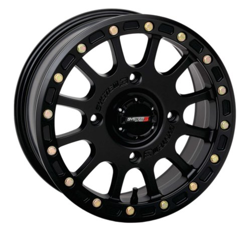 System 3 Off-Road System 3 Off-Road SB-5 Beadlock Wheels  14X7 4/137 5+2 SBL MT BLK