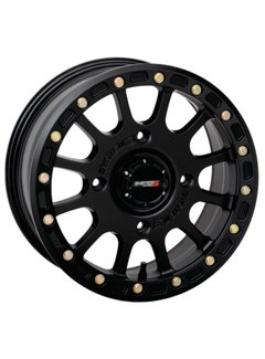 System 3 Off-Road System 3 Off-Road SB-5 Beadlock Wheels  15X7 4/137 5+2 SBL MT BLK