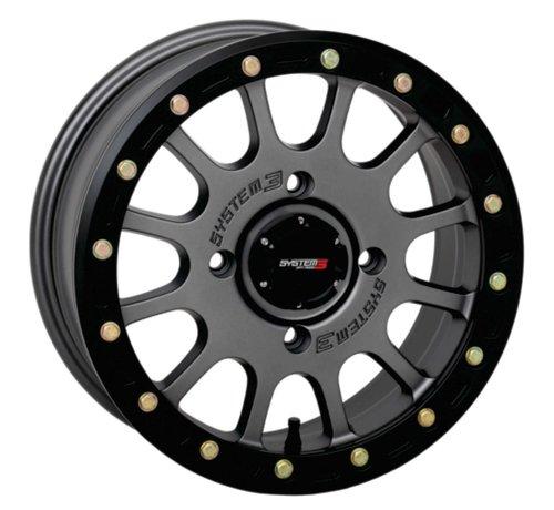 System 3 Off-Road System 3 Off-Road SB-5 Beadlock Wheels  15X7 4/137 5+2 SBL MT GRY