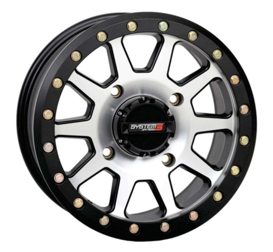 System 3 Off-Road SB-3 Beadlock Wheels  15x7 4/137 5+2(+30mm) SBL MACH
