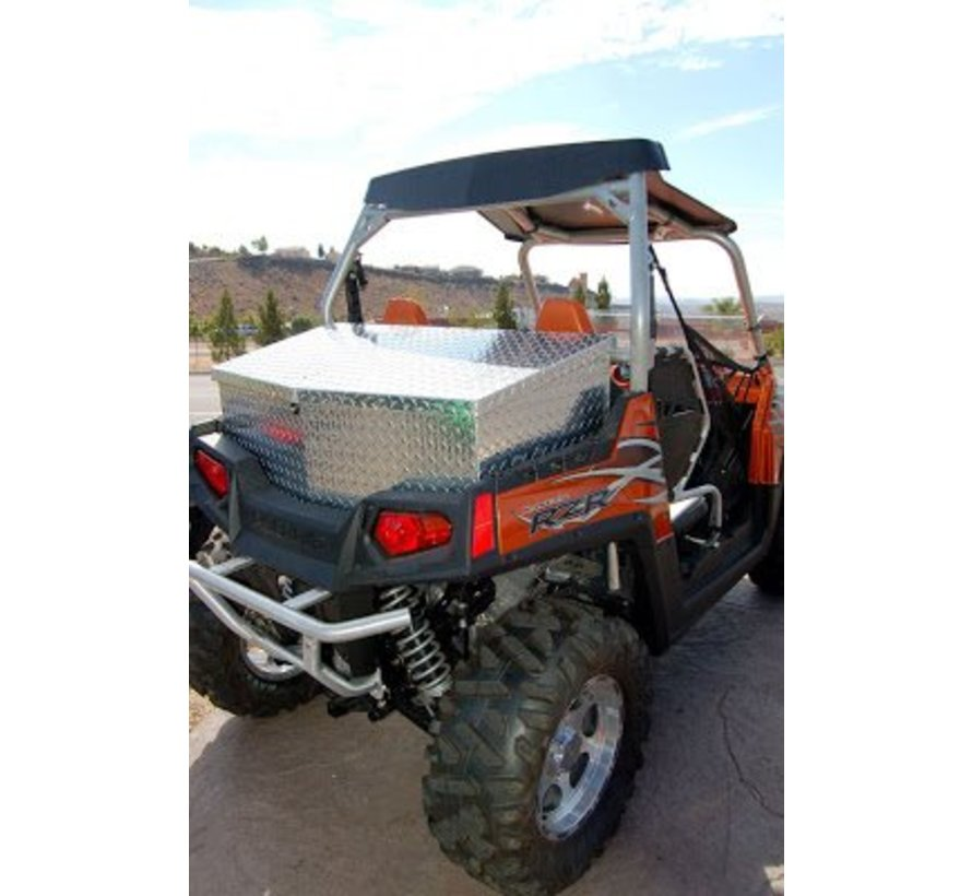 - RZR 900 Series Chrome Rear Crago Box