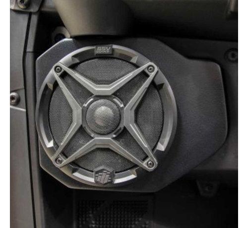 SSV Works SSV  - Polaris Ranger Front Speaker Pods (Unloaded - Pair)