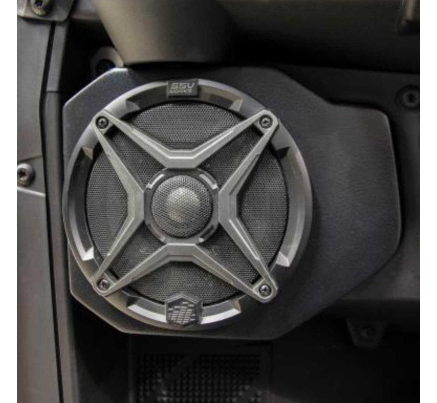 SSV  - Polaris Ranger Front Speaker Pods (Unloaded - Pair)