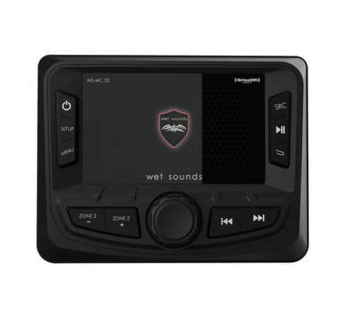 Wet Sounds WS-MC2 - AM/FM/Weather Band Tuner With RDS