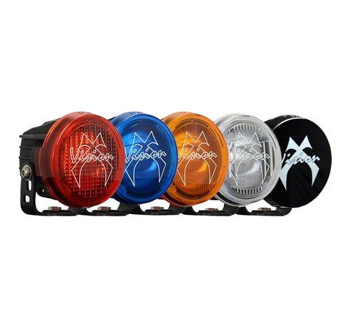 "Vision X USA 3.7"" Round Optimus Light Cover - Orange Wide Flood"