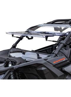 SuperATV SATV - Can-Am Maverick X3 Flip Windshield  (S/R)