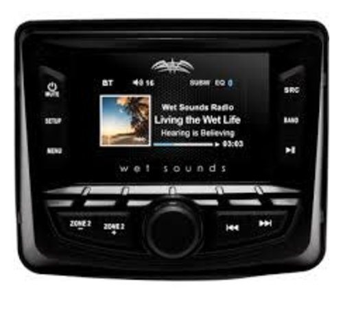 Wet Sounds Wet Sounds - WS-MC- 2 WS-MC-2  AM/FM/Weather Band Tuner With RDS and SiriusXM-Ready®