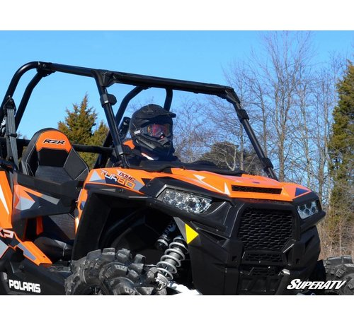 SuperATV RZR 900/1000 Full Windshield - Clear Scratch Resistant
