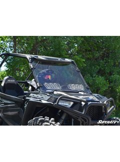 SuperATV RZR 900/1000/Turbo 2014-2018 Full VENTED Windshield - Clear Scratch Resistant