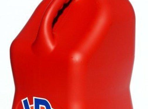 VP Racing VP Racing - 5 Gallon Fuel Tank - Red Square