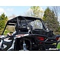 RZR 1000 Full Rear Windshield - Clear Scratch Resistant