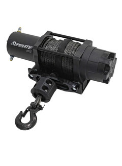 SuperATV SATV - Black Ops 6000 LBS Winch -  Synthetic Rope