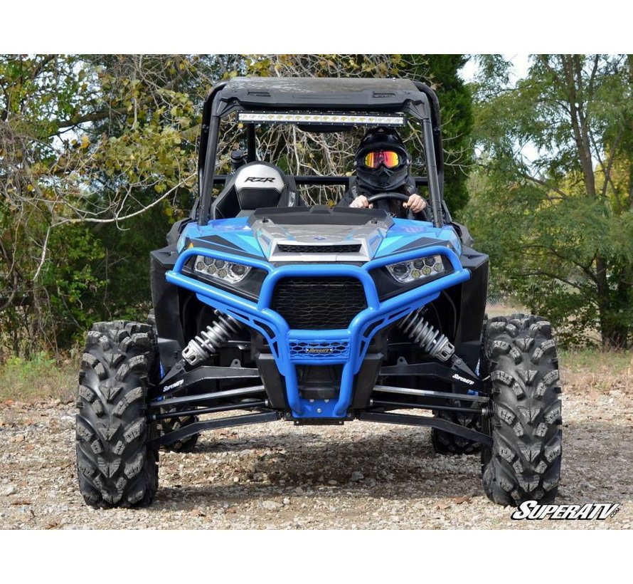 - Polaris RZR 900/1000 Front Brush Guard - Wrinkle Black