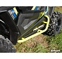 - Polaris RZR 900 / 1000 Heavy Duty Nerf Bars - Wrinkle Black