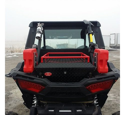 RyFab Industries - RZR 1000 Sesries Black Rear Cargo Box