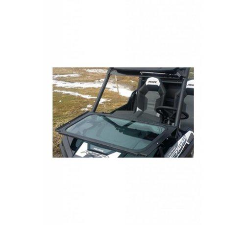 RyFab Industries RZR Front Solid Glass Windshield w/ Wiper