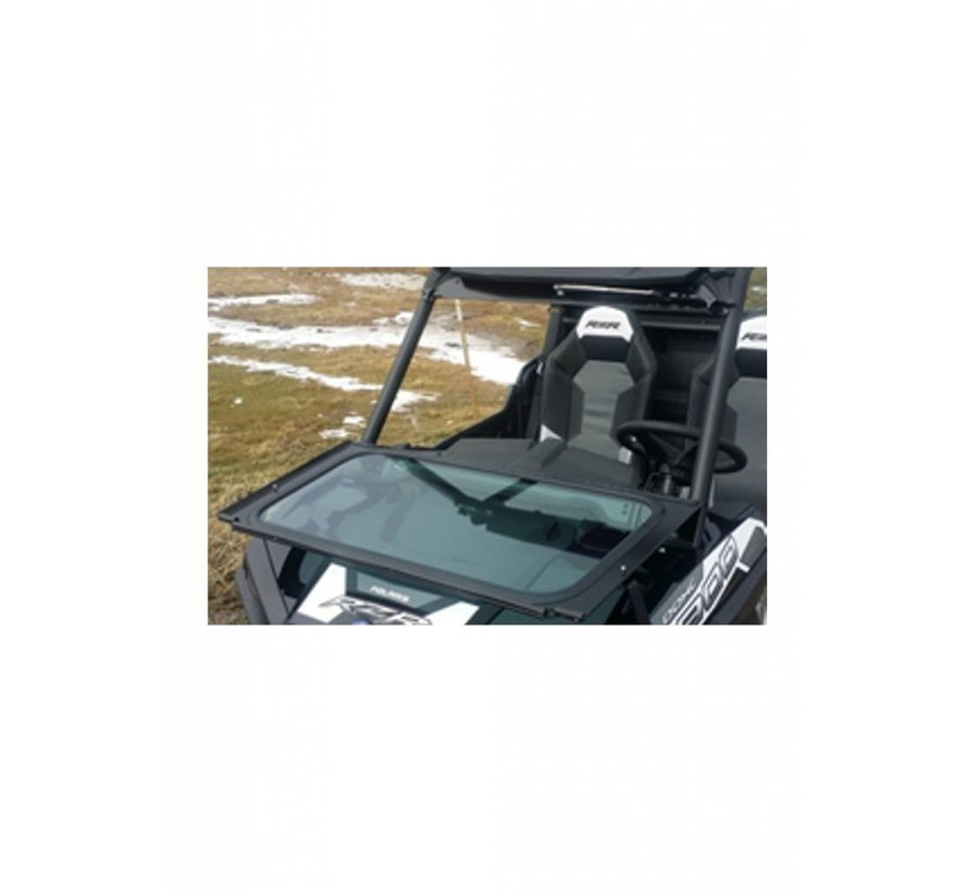 RZR Front Solid Glass Windshield w/ Wiper