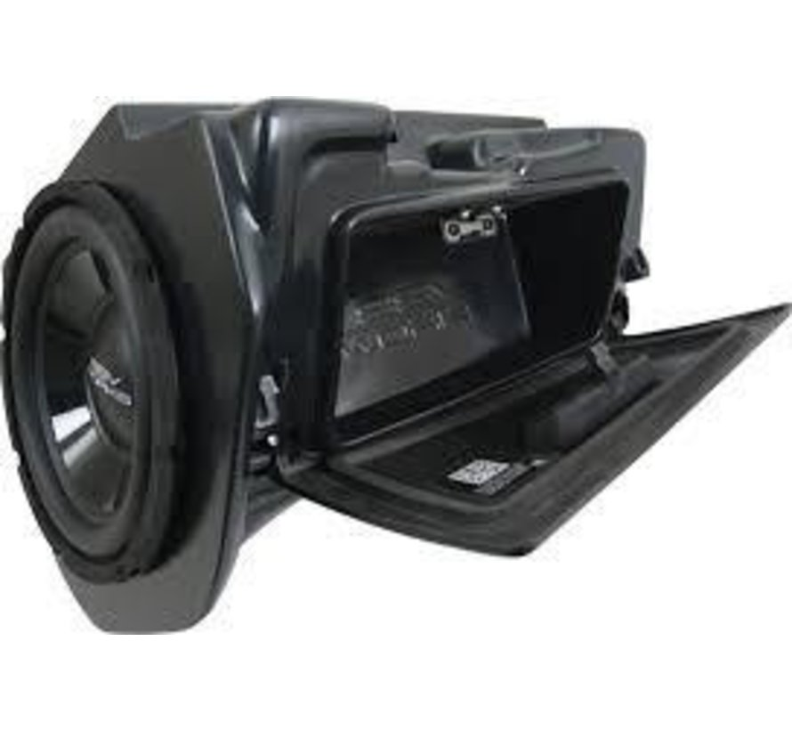 "- 10"" Glove Box 600 Watt Subwoofer"