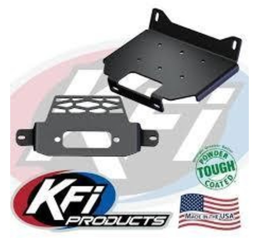 KFI - Winch Mounting Plate - RZR 900 - 1000 / General (101350)