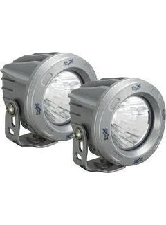 "Vision X USA 3.7"" Round Optimus 2 Light Kit - Silver"