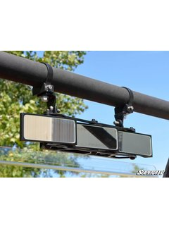 "SuperATV 3 Panel Rear View Mirror with 1.75"" Clamps"