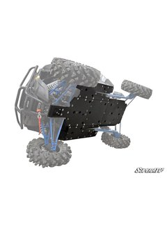 SuperATV SuperATV- Polaris RZR XP Turbo Full Skid Plate