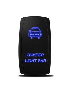 WLO - Rocker Switch / 5 - Bumper Light Bar - Blue