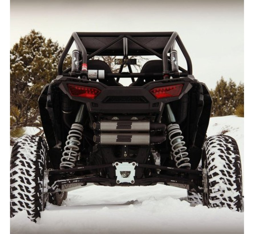 HMF Exhaust - 2017 RZR XP 1000  Dual Full System